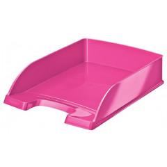 Brievenbak Leitz Plus WOW PS A4 roze metallic (5226323)