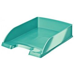 Brievenbak Leitz Plus WOW PS A4 ijsblauw metallic (5226351)