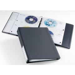 Ringmap Durable Index 40 voor CD/DVD PP antraciet