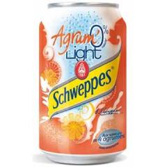 Frisdrank Schweppes agrum light 33cl (4x6)