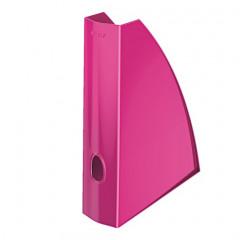 Tijdschriftencassette Leitz WOW PS A4 roze metallic (5277123)