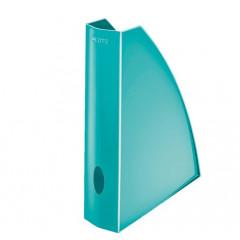 Tijdschriftencassette Leitz WOW PS A4 ijsblauw metallic (5277151)