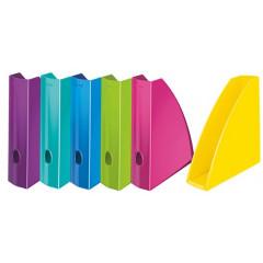 Tijdschriftencassette Leitz WOW PS A4 assorti metallic (5277199)
