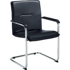 Bezoekersstoel EOL Nomina zwart