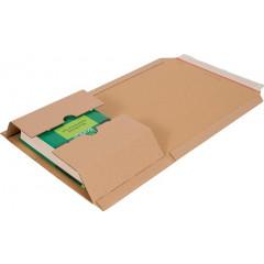 Wikkelverpakking Cleverpack Golfkarton 155x217x10/50mm (10)
