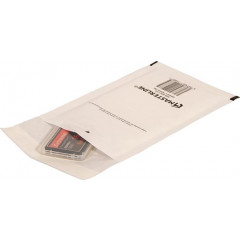 Luchtkussenomslag Cleverpack 100x165mm met strip wit (10)