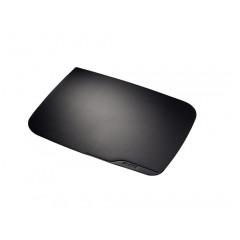 Onderlegger Leitz Plus PVC 530x400mm zwart