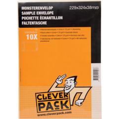 Monsterenvelop Cleverpack 229x324x38mm met strip crème (10)