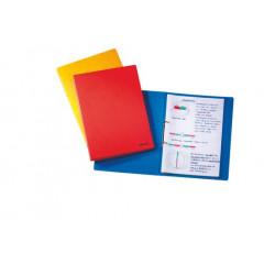 Ringmap Esselte Rainbow karton A4 2 O-ringen 16mm rug 2cm blauw