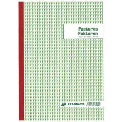 Factuurboek Exacompta A4 tweetalig 3-voud