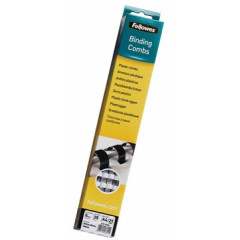 Bindrug Fellowes plastic 6mm wit (25)
