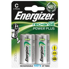 Batterij Energizer Power Plus oplaadbaar C (2)