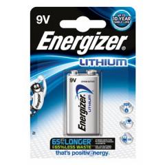 Batterij Energizer Lithium 9V