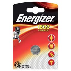 Knoopcelbatterij Energizer Lithium CR1632 3V