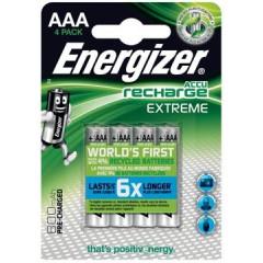 Batterij Energizer Extreme oplaadbaar AAA 800mAh (4)