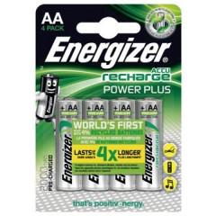 Batterij Energizer Power Plus herlaadbaar AA 2000mAh (4)