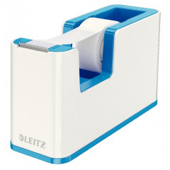 Leitz WOW plakbandhouder inclusief plakband blauw/wit (5364136)