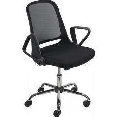 Bezoekersstoel EOL Single zwart