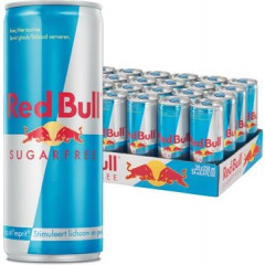 Energiedrank Red Bull Sugarfree 25cl blik (24)