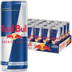 Energiedrank Red Bull Regular 25cl blik (24)