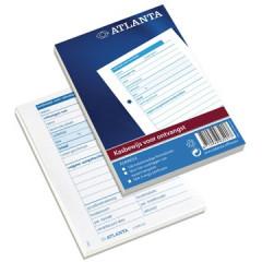 Kasbewijs ontvangst Atlanta 10,5x14,8cm A6 genummerd nederlands