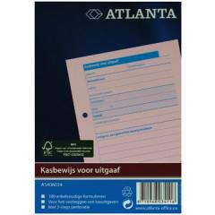 Kasbewijs Atlanta uitgaven 10,5x14,8cm genummerd 1-100 roze