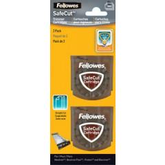 Snijmessen Fellowes SafeCut voor rolsnijmachine recht (2)