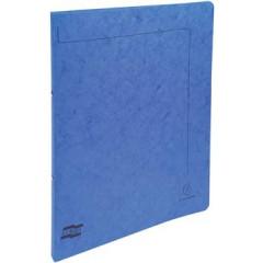 Ringmap Exacompta karton A4 2 ringen 15mm rug 2cm blauw