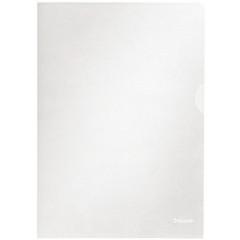 Zichtmap Esselte PP A4 105µ gekorreld transparant (100) (548320T)