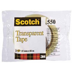Plakband Scotch 550 15mm x 66m