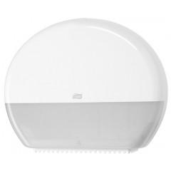 Toiletpapierdispenser Tork jumbo T1 voor rol wit