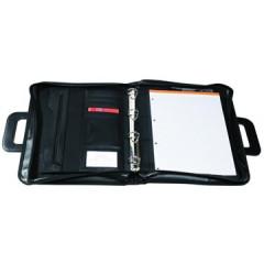 Schrijfmap Exacompta Exafolder 4-ringen 26,5x34cm zwart