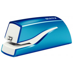 Elektrische nietmachine Leitz New NeXXt 10vel batterijen blauw metallic (5566136)