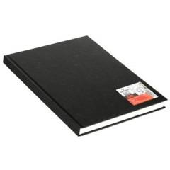 Schetsboek Canson art book one 21,6x29,7cm 100gr 100vel zwart