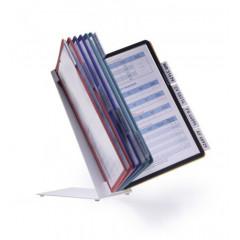 Zichtpanelensysteem Durable Vario Table 10 A4 assorti