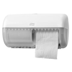 Toiletpapierdispenser Tork traditionel T4 wit