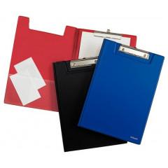 Klemplaat Esselte met overslag PP A4 rood (5604300)