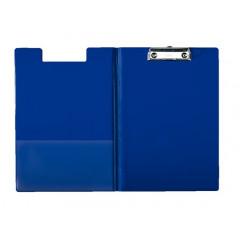 Klemplaat Esselte met overslag PP A4 blauw (5604500)