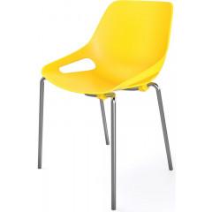 Bezoekersstoel EOL Rosalie geel