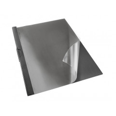 Klemmap Esselte Vivida PVC A4 zwart