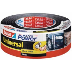 Tape Tesa Extra Power Universal 50mmx50m zwart