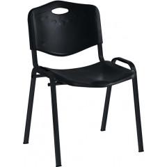Bezoekersstoel EOL Anthra+ zwart