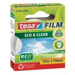 Plakband Tesa eco & clear 19mm x 33m