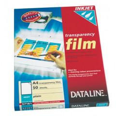 Transparanten Esselte Dataline A4 100 micron voor inkjet (50)