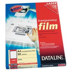 Transparanten Esselte Dataline A4 100 micron voor mono laser (100)