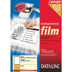 Transparanten Esselte Dataline A4 100 micron voor mono copier (100)