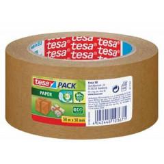 Verpakkingstape Tesa Paper 50mmx50m bruin