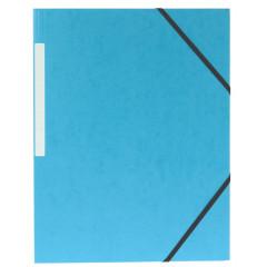 Elastomap 5 Star 3 kleppen A4 450gr donkerblauw (10)