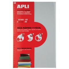 Schriftomslag Apli verstelbaar A4 120 micron transparant (3)