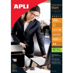 Fotopapier Apli presentations  A4 120gr mat inkjet (100)